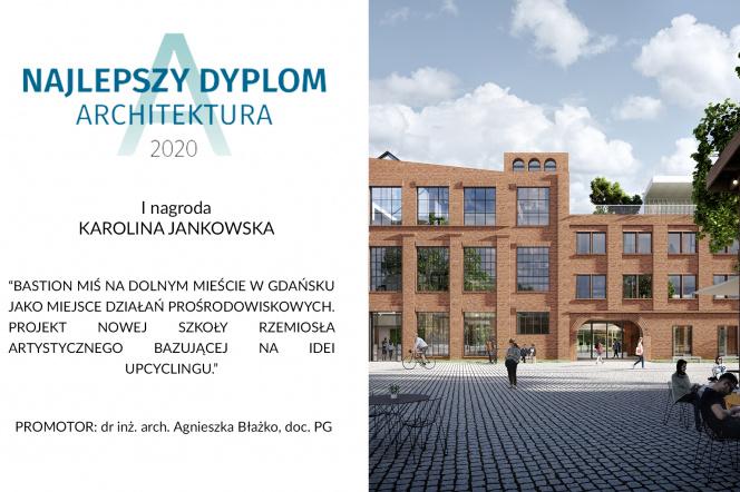 Nagrodzony projekt Karoliny Jankowskiej