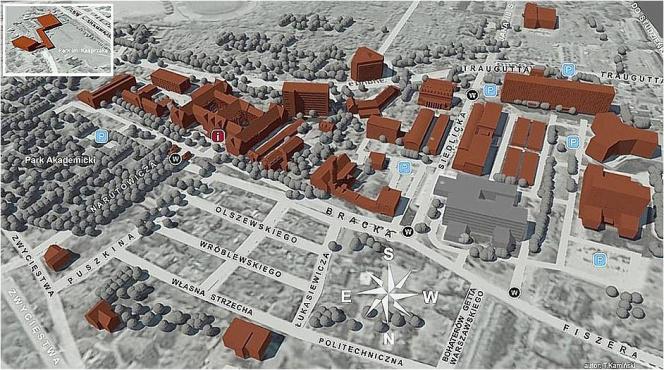 Plan kampusu PG
