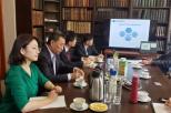 Delegacja z Uniwersytetu Dezhou na Wydziale Chemicznym PG