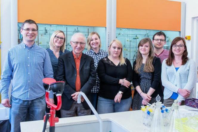 Członkowie grupy badawczej prof. Rafała Grubby