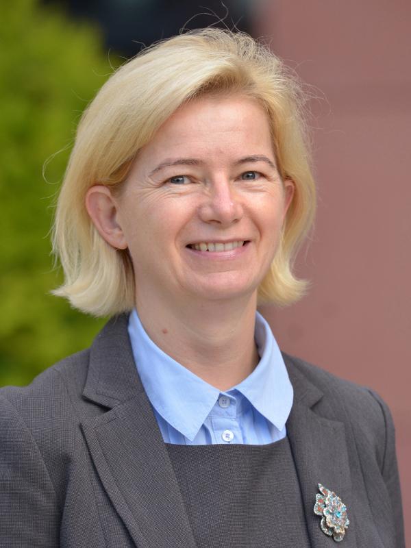 dr Barbara Wikieł, prof. uczelni