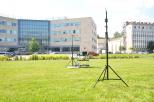 Testy tanich rekonfigurowalnych systemów antenowych, które użyte będą w systemach lokalizacji, prowadzone na Politechnice Gdańskiej