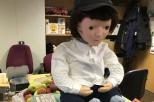 na zdjęciu Kaspar - robot humanoidalny