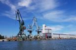 na zdjęciu statek towarowy na Morzu Bałtyckim