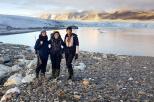 scientis in Spitzbergen