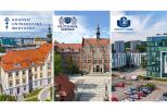 Na zdjęciu 3 uczelnie: od lewej GUMed, PG i UG