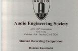 Audio Engineering Society, D. Koszewski