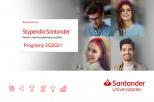 Santander stypendia