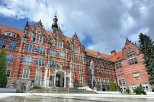 the main building of Gdańsk Tech