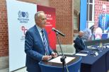 dr Zbigniew Canowiecki, przewodniczący Konwentu oraz prof. Krzysztof Wilde, rektor PG