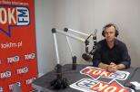 Prof. Łukasz Kulas w studiu radia TOK FM