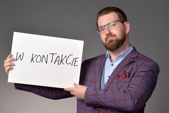 Maciej Dzwonnik - Rzecznik Prasowy