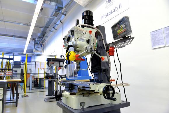 Laboratoria i warsztaty ProtoLab na Politechnice Gdańskiej