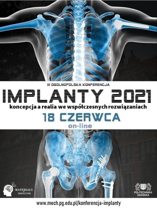 Plakat Konferencji Implanty