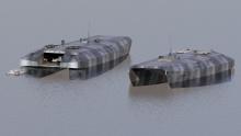 Podwodne platformy typu AUV-Stealth jako element systemu obrony na morzu. Źródło: M.K. Gerigk, Zakład Mechaniki i Obiektów Bezzałogowych, Instytut Mechaniki i Konstrukcji Maszyn, WIMiO PG, 2021