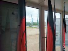 Granatowy kontener, czyli Mobilny Warsztat Studencki na terenie Stoczni Cesarskiej