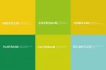 Nazwy programów na kolorowym tle