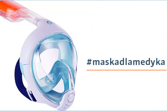 Maska dla medyka - zdjęcie maski