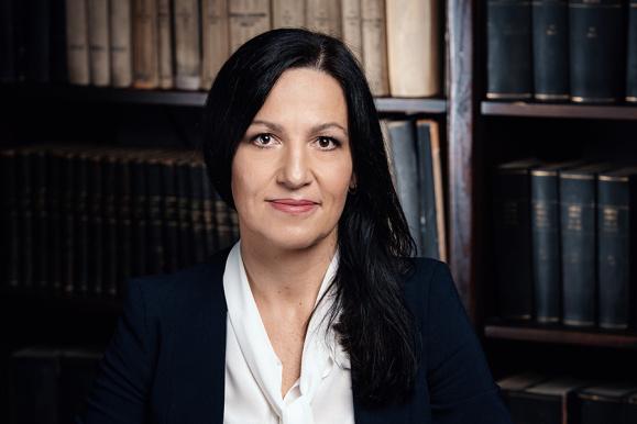 PhD, DSc, Eng. Joanna Żukowska, university professor, dean of the Faculty of Civil and Environmental Engineering
